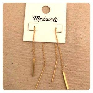 Madewell Threader Bar Earrings